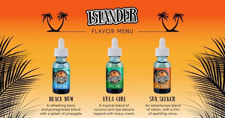 Islander Flavor Menu