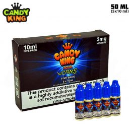 Candy King Sour Worms TPD 5x10 ml E-juice