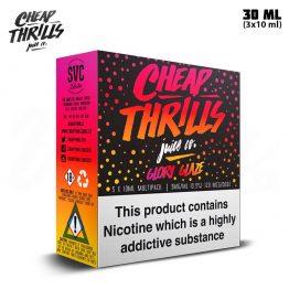 Cheap Thrills Glory Glaze TPD 3x 10 ml E-juice