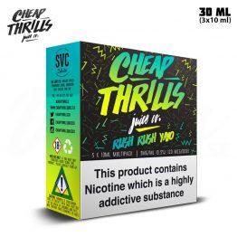 Cheap Thrills Rush Rush Yayo TPD 3x 10 ml E-juice