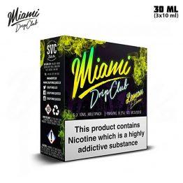 Miami Drip Club Lemon Eleven TPD 3x 10 ml E-juice