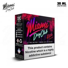 Miami Drip Club Little Havana TPD 3x 10 ml E-juice