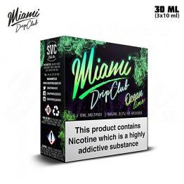 Miami Drip Club Ocean Lime TPD 3x 10 ml E-juice