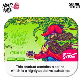 Nasty Juice Green Ape TPD 5x10 Multipack