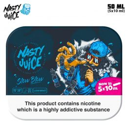 Nasty Juice Slow Blow TPD 5x10 ml e-juice