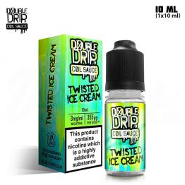 Double Drip Twisted Ice Cream 10 ml TPD