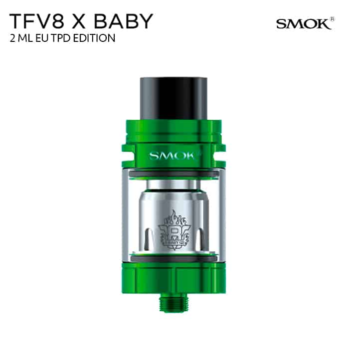 SMOK TFV8 X-Baby Green Grön