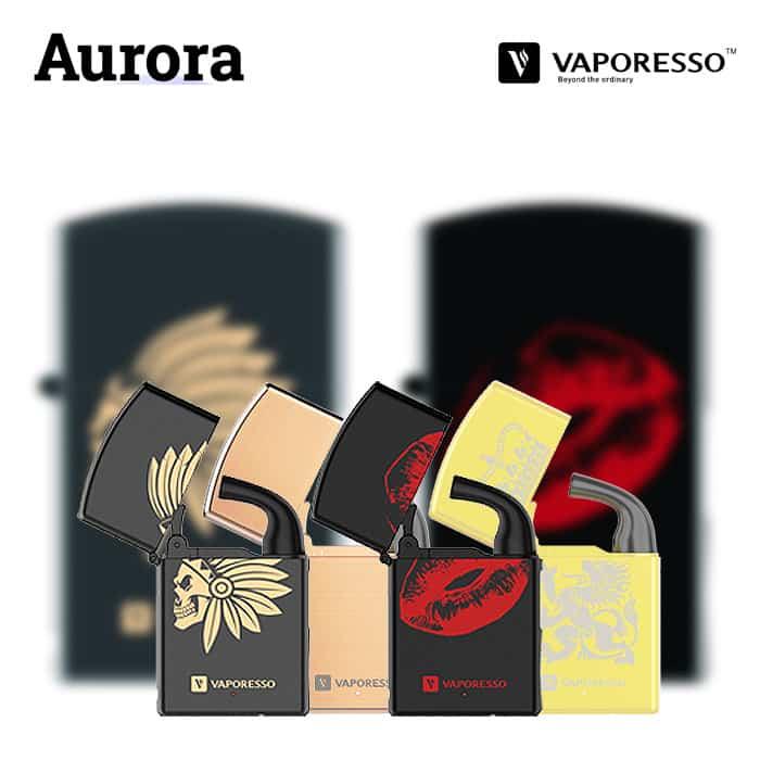 Vaporesso Aurora Starter Kit (650mAh, MTL) - Utgått