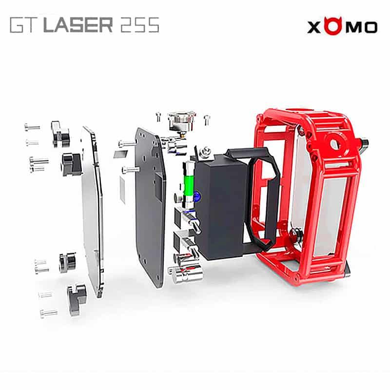 Xomo Gt Laser 255s 150w 3500 Mah Utg 229 Tt Vapes Se