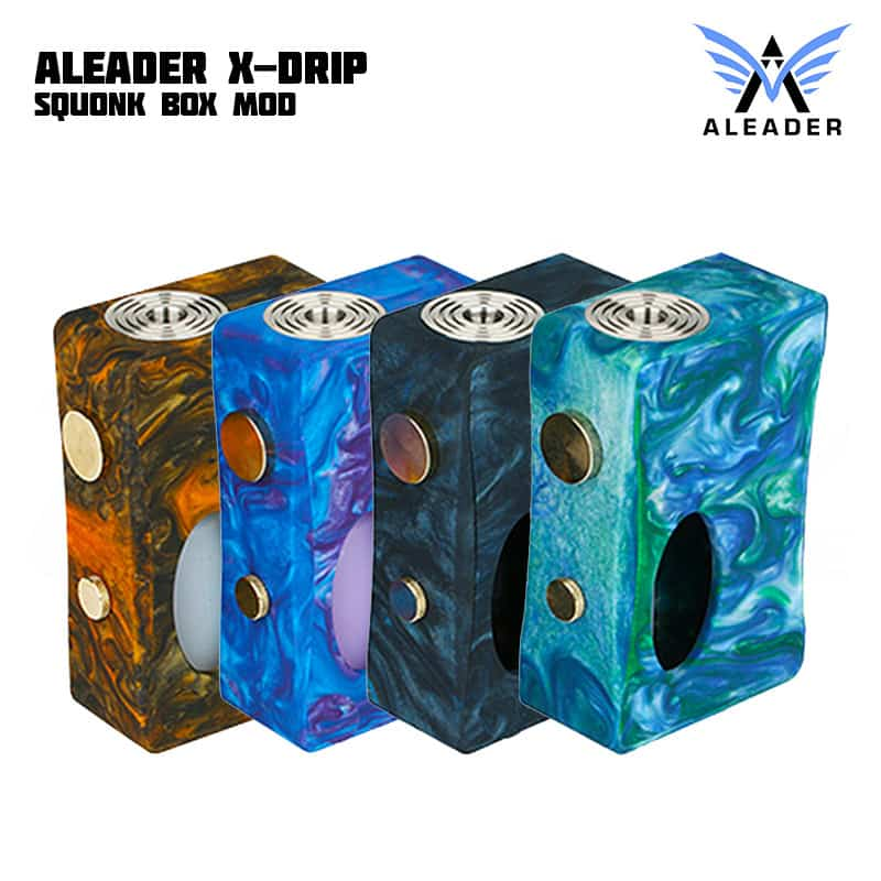Aleader X-Drip Squonk Mod