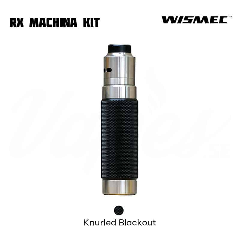 Wismec RX Machina Kit Knurled Blackout