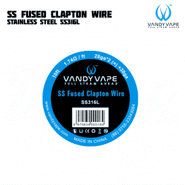 Vandy Vape SS Fused Clapton Wire