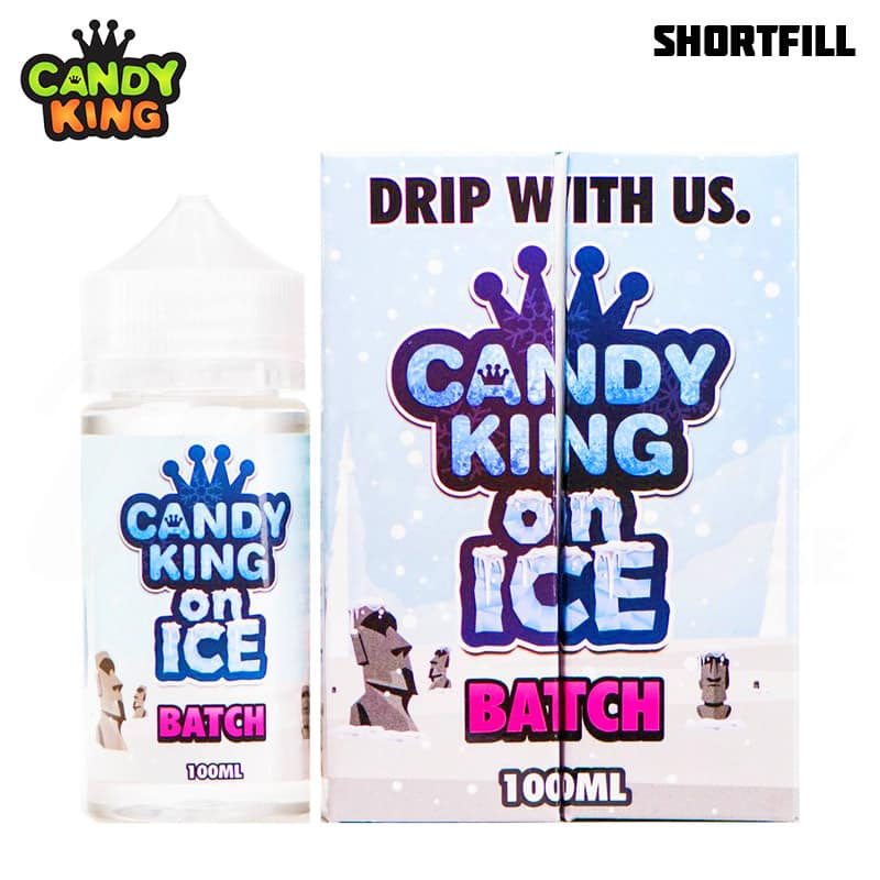 Candy King Batch ON ICE Shortfill