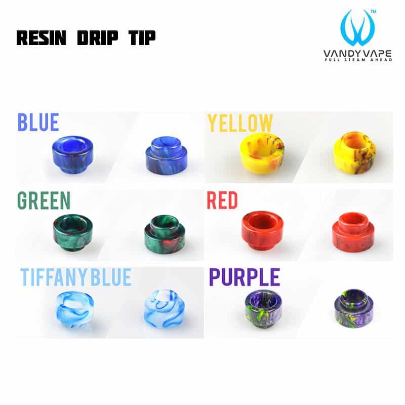 Vandy Vape Resin Drip Tip 810
