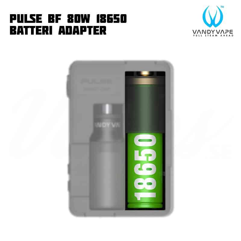 Vandy Vape Pulse BF 80 18650 Adapter