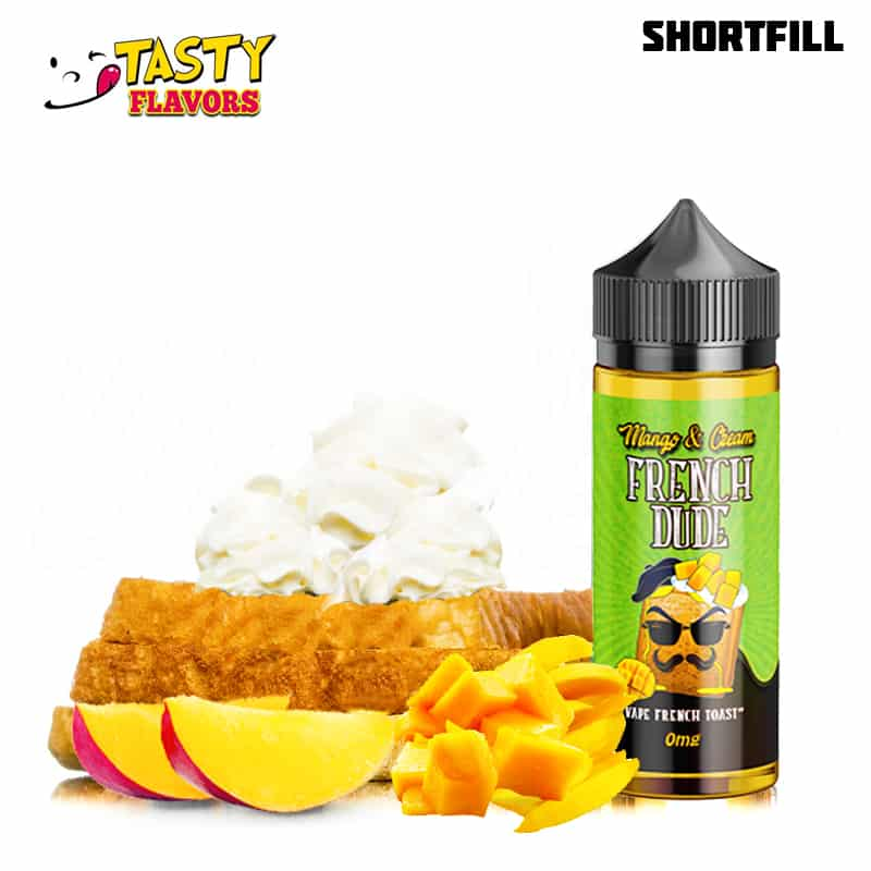 aab652180aed Vape Breakfast Classics – French Dude Mango & Cream (100 ml, Shortfill)