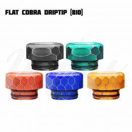 Flat Cobra Drip Tips