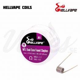 Hellvape MTL DUal Core Fused Clapton Coil